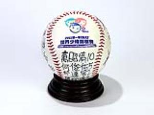 Game ball of inaugural 12U Baseball World Cup