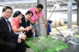 Premier Lai visits combined indoor aquaculture facility and solar energy farm