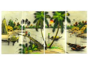 Vietnamese countryside painting