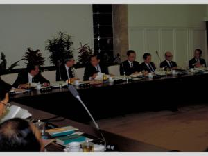 Premier Lee's first Cabinet meeting